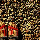 Shoes on the Rocks by Kerri Swayze