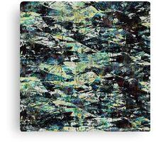 abstract grunge diamond texture Canvas Print