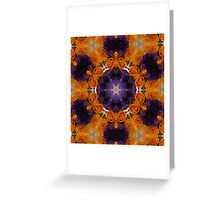 Kaleidoscope Spring Bouquet Greeting Card