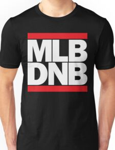 MLB DNB (White on Dark) Unisex T-Shirt