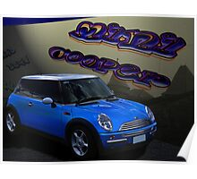 Mini Cooper Poster