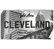 Cleveland - Our City Poster