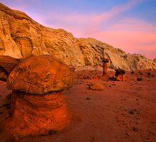 Rimrock Basin Dusk by DawsonImages