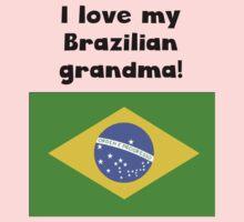 I Love My Brazilian Grandma Kids Tee