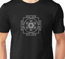 Metatron's Cube - White Unisex T-Shirt