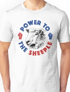 Power To The Sheeple Unisex T-Shirt
