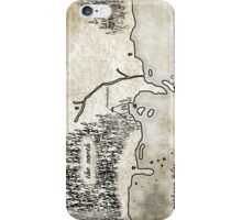 Map - Fated: Blood and Redemption iPhone Case/Skin