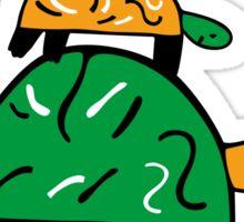 Turtle Tower Sticker