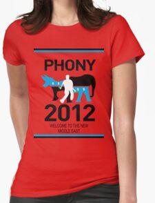 PHONY 2012 (LOOKS LIKE KONY2012) Womens Fitted T-Shirt