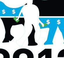 PHONY 2012 (LOOKS LIKE KONY2012) Sticker