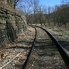 Tracks Along The Wall Of Fame by Geno Rugh