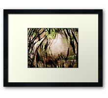 opening.... way through Framed Print