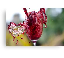 Spill The Wine Canvas Print