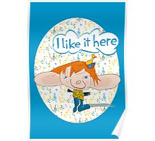 I Like It Here Poster