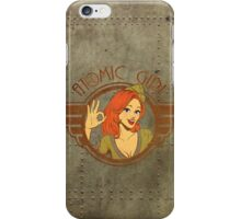 Atomic Girl  iPhone Case/Skin