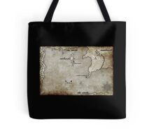 Map - Caged: Love and Treachery on the High Seas Tote Bag