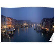 Daybreak in Venice Poster