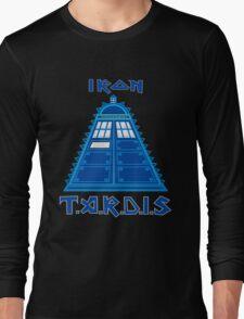 Iron Tardis Long Sleeve T-Shirt