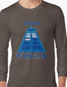 Iron Tardis Long Sleeve T-Shirt