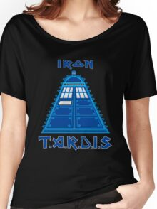 Iron Tardis Women's Relaxed Fit T-Shirt