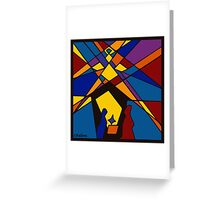 Creche Greeting Card