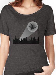 Dinosaur Sky Signal Women's Relaxed Fit T-Shirt
