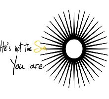 You are the sun-Grey's anatomy Photographic Print