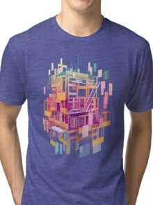 Building Clouds Tri-blend T-Shirt