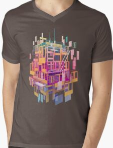 Building Clouds Mens V-Neck T-Shirt