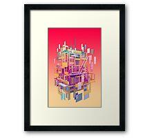 Building Clouds Framed Print