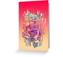 Building Clouds Greeting Card