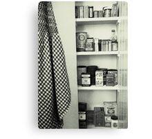 """""""Kitchen - Spice Cupboard - 1940's""""   Canvas Print"""