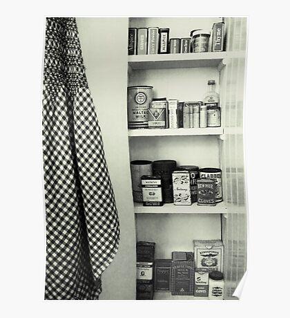 """Kitchen - Spice Cupboard - 1940's""   Poster"