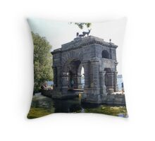 Bolt Castle Bridge Throw Pillow