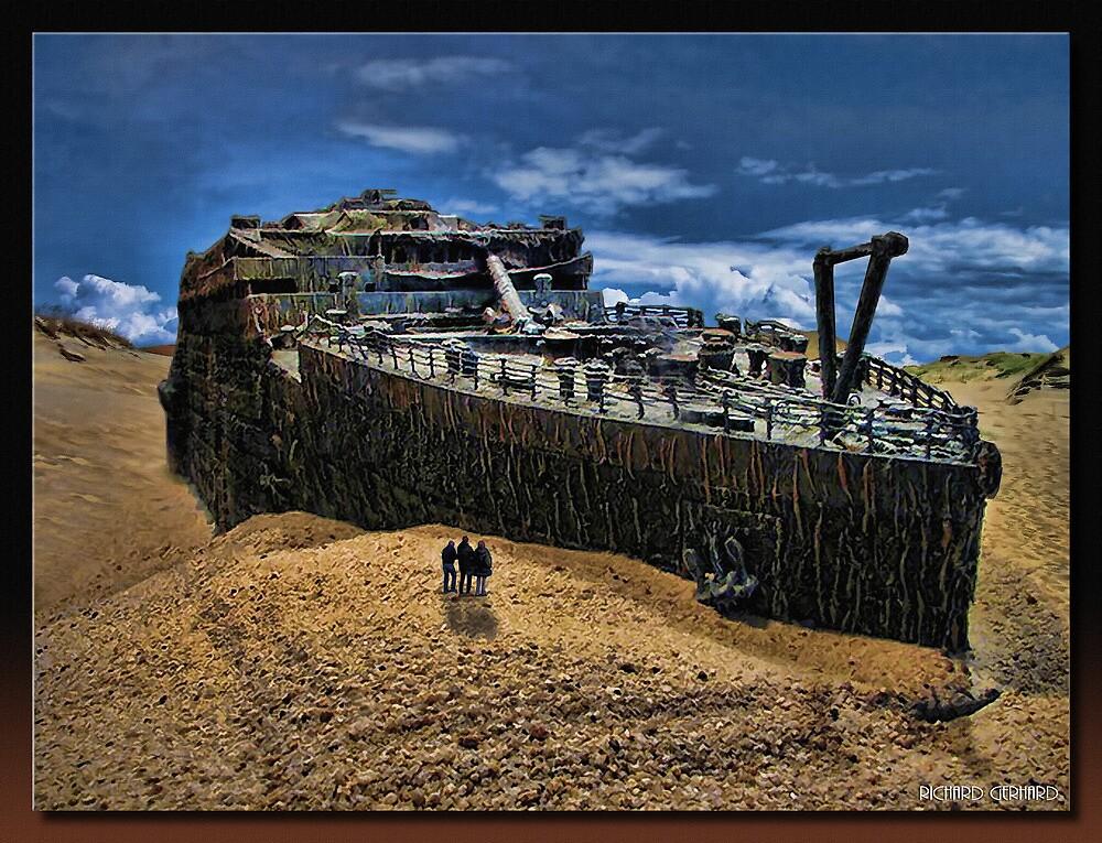 The Titanic by Richard  Gerhard