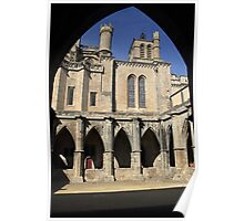 Gothic Arches France Poster