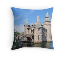 Bolt Castle Pump House Throw Pillow