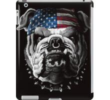 Bulldog Wearing Bandana Cool Dog iPad Case/Skin
