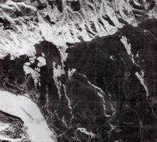 USGS Topo Map Oregon OR The Dalles North 281780 1975 24000 Inverted Sticker