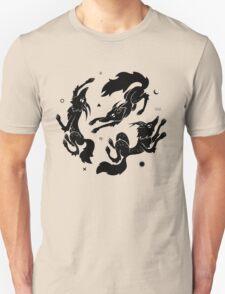 Dancing Wolves Unisex T-Shirt