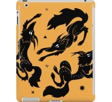 Dancing Wolves iPad Case/Skin