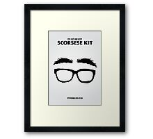 Scorsese Kit Framed Print