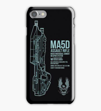MA5D Assault Rifle iPhone Case/Skin