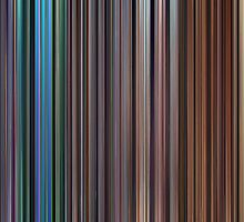 Moviebarcode: The Complete Pixar Feature Films (1995-2011) by moviebarcode