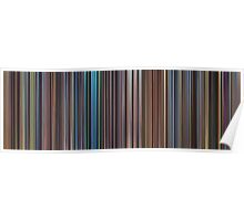 Moviebarcode: The Complete Pixar Feature Films (1995-2011) Poster