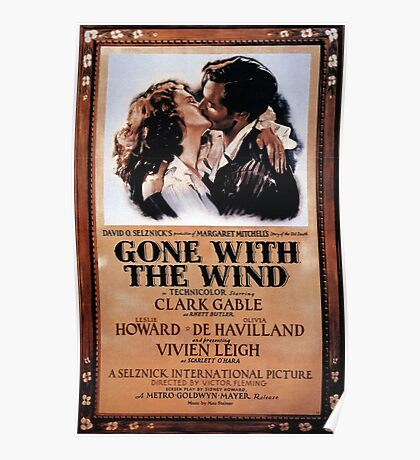 Gone With The Wind - 3 Poster