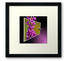 Pollinating Guest Framed Print