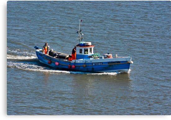Whitby Fishing Boat by Trevor Kersley