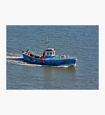 Whitby Fishing Boat Photographic Print