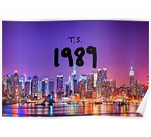 TS 1989 New York Poster
